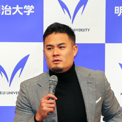 ラグビー日本代表・田村優選手トークイベント ダイジェスト動画を公開します|明治大学